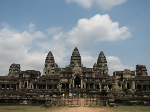 Angkor Wat_porte Ouest