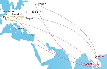 Trouver un billet d'avion pour Vietnam
