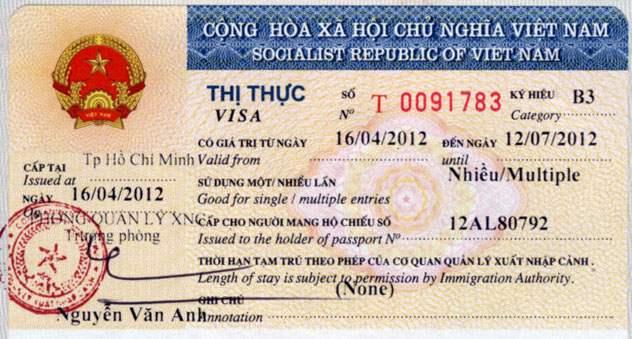 Obtenir le visa pour Vietnam, Laos, Cambodge