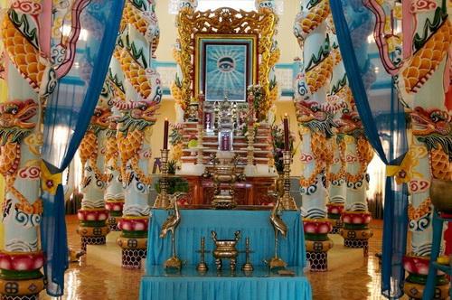 Temple Caodaisme